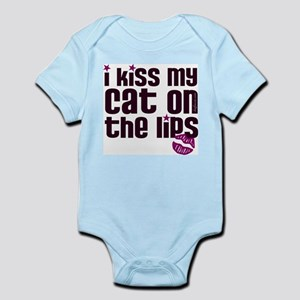 Kiss Cat Lips Infant Bodysuit