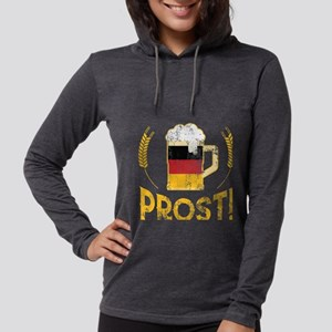 Prost German Flag Beer Lover O Long Sleeve T-Shirt