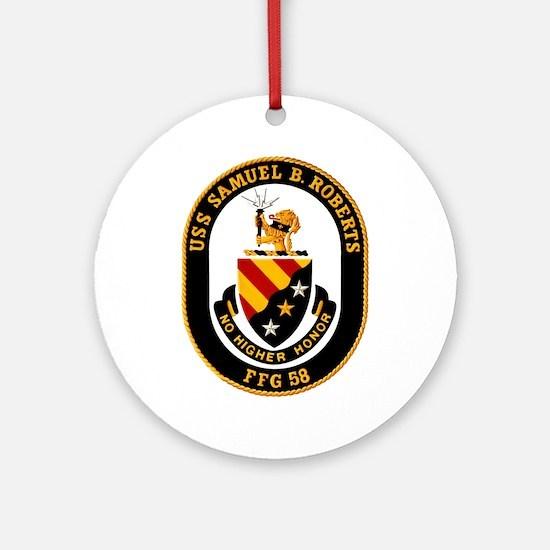 FFG-58 Roberts Ornament (Round)