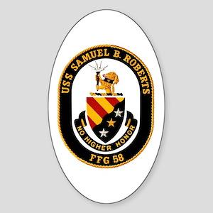 FFG-58 Roberts Oval Sticker