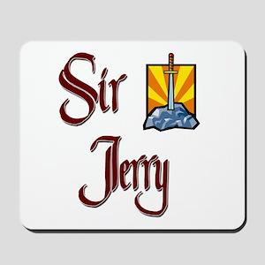 Sir Jerry Mousepad