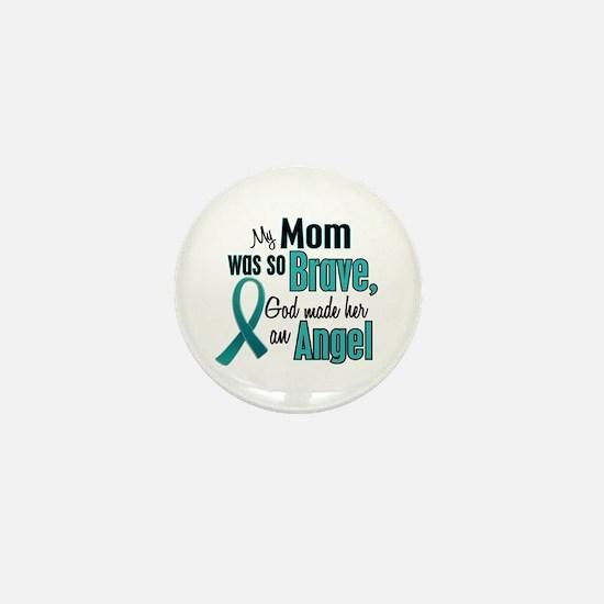 Angel 1 TEAL (Mom) Mini Button