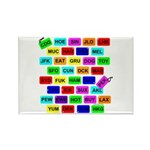 *NEW DESIGN* Tag It! Rectangle Magnet (10 pack)
