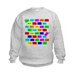 *NEW DESIGN* Tag It! Kids Sweatshirt