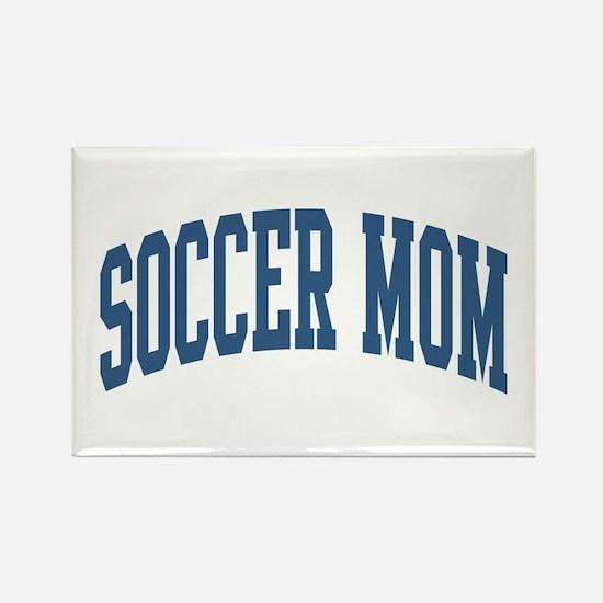 Soccer Mom Sports Nickname Collegiate Style Rectan