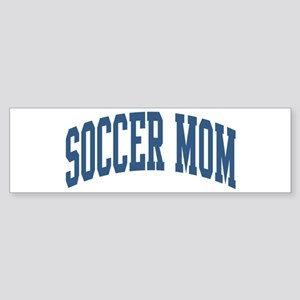 Soccer Mom Sports Nickname Collegiate Style Sticke