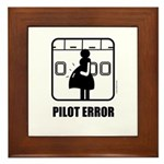 *NEW DESIGN* Pilot Error Framed Tile