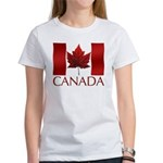 Canadian Flag Women's T-shirt Souvenir