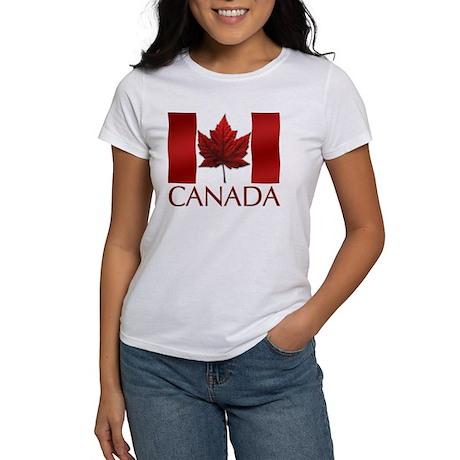 Canadian Flag Women's T-shirt Souvenir