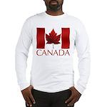 Canadian Flag Long Sleeve T-Shirt