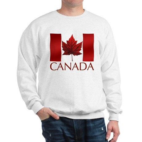 Canada Flag Souvenir Sweatshirt Maple Leaf Gifts