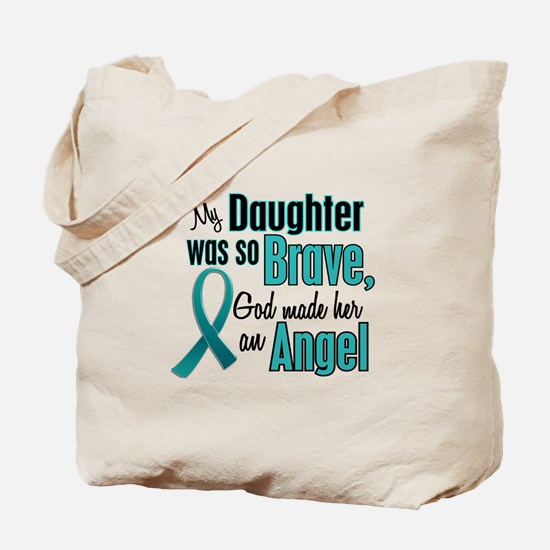 Angel 1 TEAL (Daughter) Tote Bag
