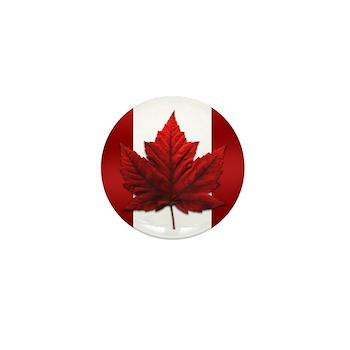 Canada Souvenir Mini Button
