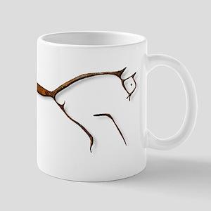 Uffington Horse - rust Mug