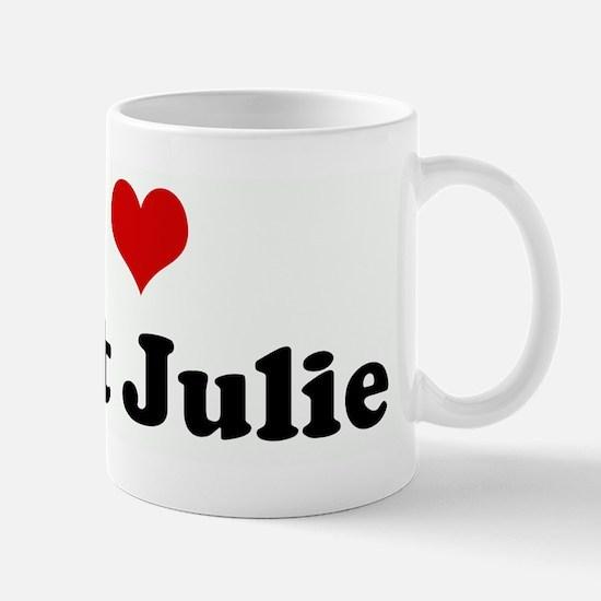 I Love Aunt Julie Mug