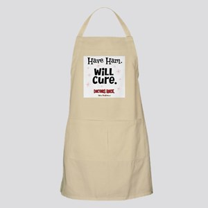 Have Ham Will Cure BBQ Apron