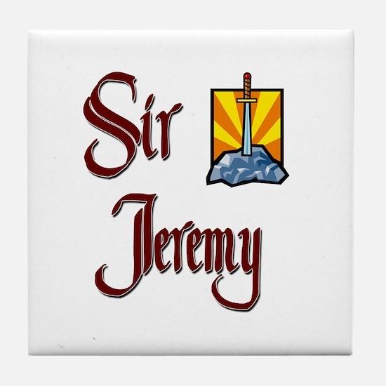 Sir Jeremy Tile Coaster