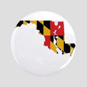 "Maryland Stripe Custom Design 3.5"" Button"