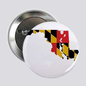 "Maryland Stripe Custom Design 2.25"" Button"