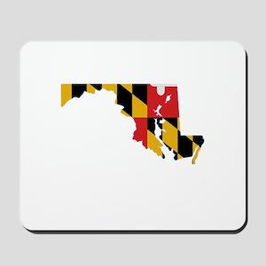 Maryland Stripe Custom Design Mousepad