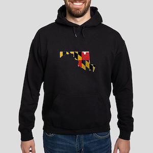 Maryland Stripe Custom Design Hoodie (dark)