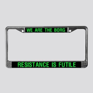 Borg License Plate Frame