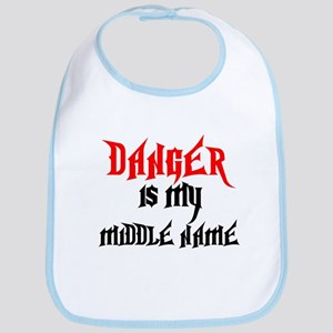 Danger Is My Middle Name Bib