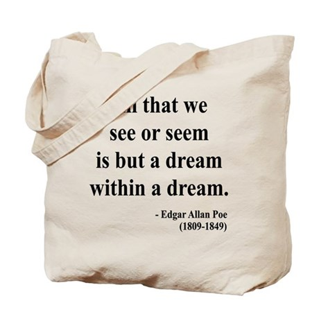 Edgar Allan Poe 1 Tote Bag
