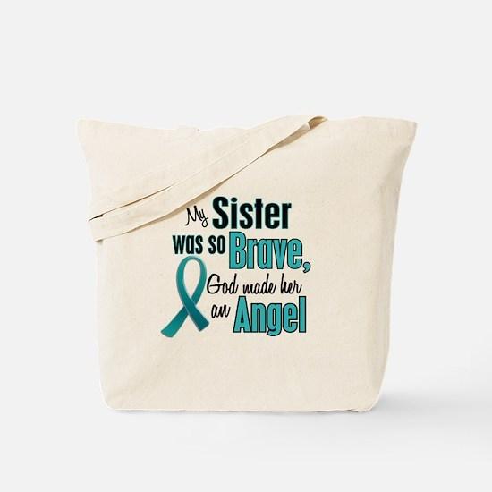 Angel 1 TEAL (Sister) Tote Bag