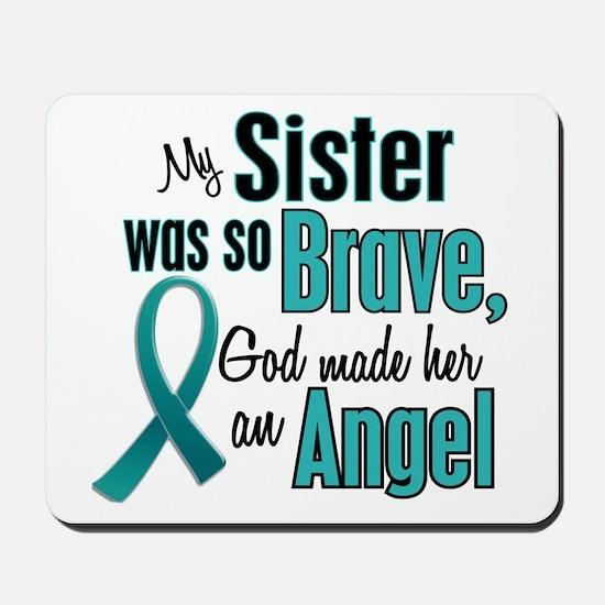 Angel 1 TEAL (Sister) Mousepad