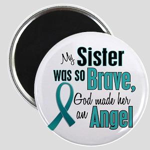 Angel 1 TEAL (Sister) Magnet