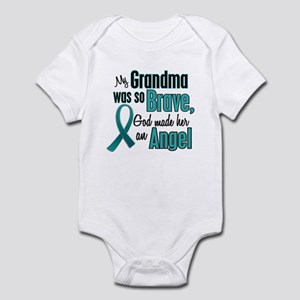 Angel 1 TEAL (Grandma) Infant Bodysuit