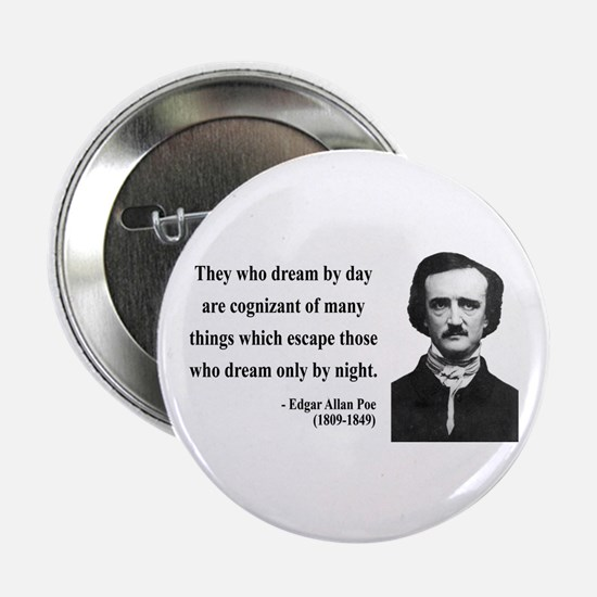 "Edgar Allan Poe 3 2.25"" Button"