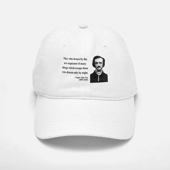 Edgar Allan Poe 3 Baseball Baseball Cap