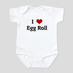 I Love Egg Roll Infant Bodysuit