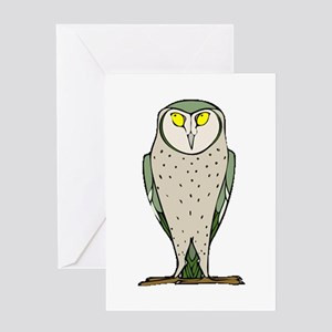 Wiser Owl Greeting Card