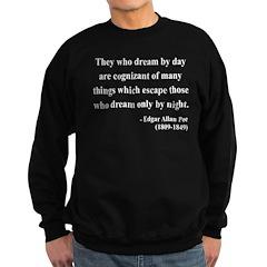 Edgar Allan Poe 3 Sweatshirt (dark)