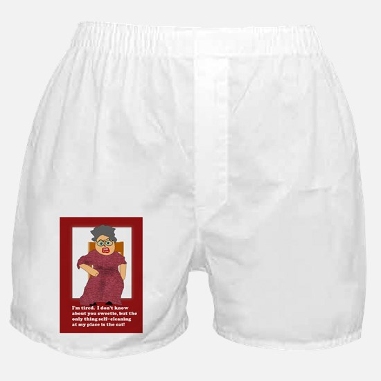 Self Cleaning Cats Boxer Shorts