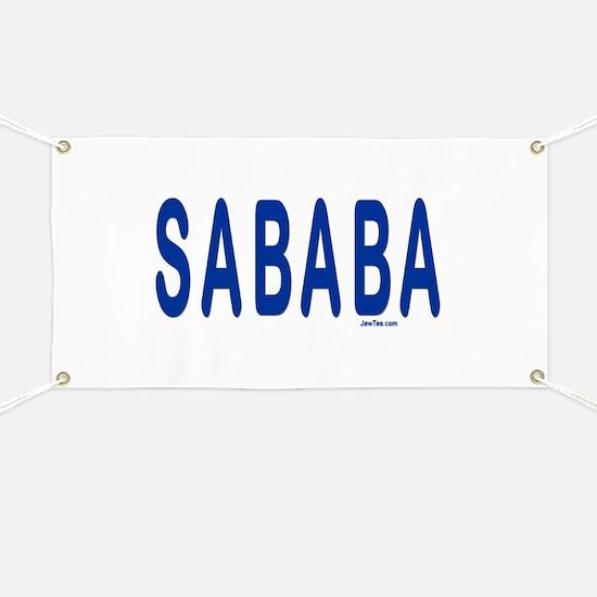SABABA AWESOME Banner