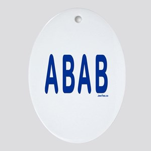 SABABA AWESOME Oval Ornament