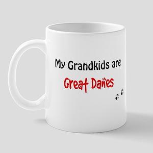 Great Dane Grandkids Mug