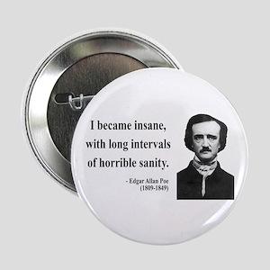 """Edgar Allan Poe 7 2.25"""" Button"""