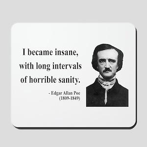 Edgar Allan Poe 7 Mousepad