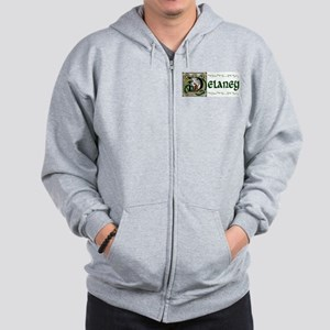 Delaney Celtic Dragon Zip Hoodie
