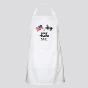 Dirt Track Fan BBQ Apron