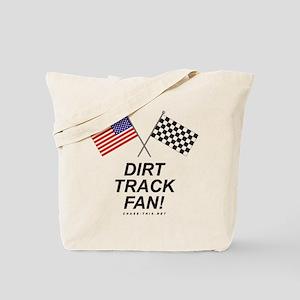 Dirt Track Fan Tote Bag