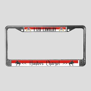 126 CAV License Plate Frame