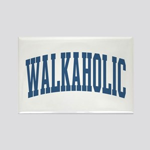 Walkaholic Nickname Collegiate Style Rectangle Mag