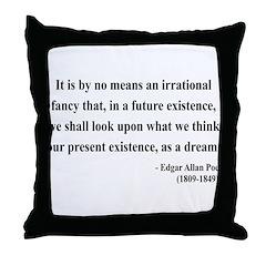 Edgar Allan Poe 4 Throw Pillow