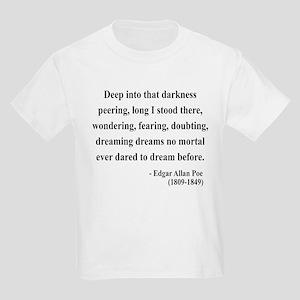 Edgar Allan Poe 5 Kids Light T-Shirt